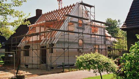 Dachstuhl erneuert und durch Gaubenerweiterung mehr Wohnraum geschaffen