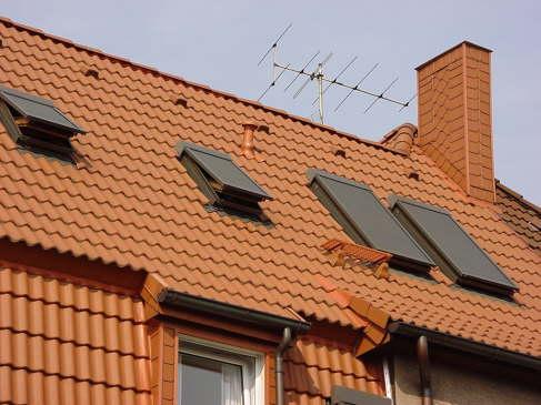 Einbau Velux-Fenster mit Aussenrolladen